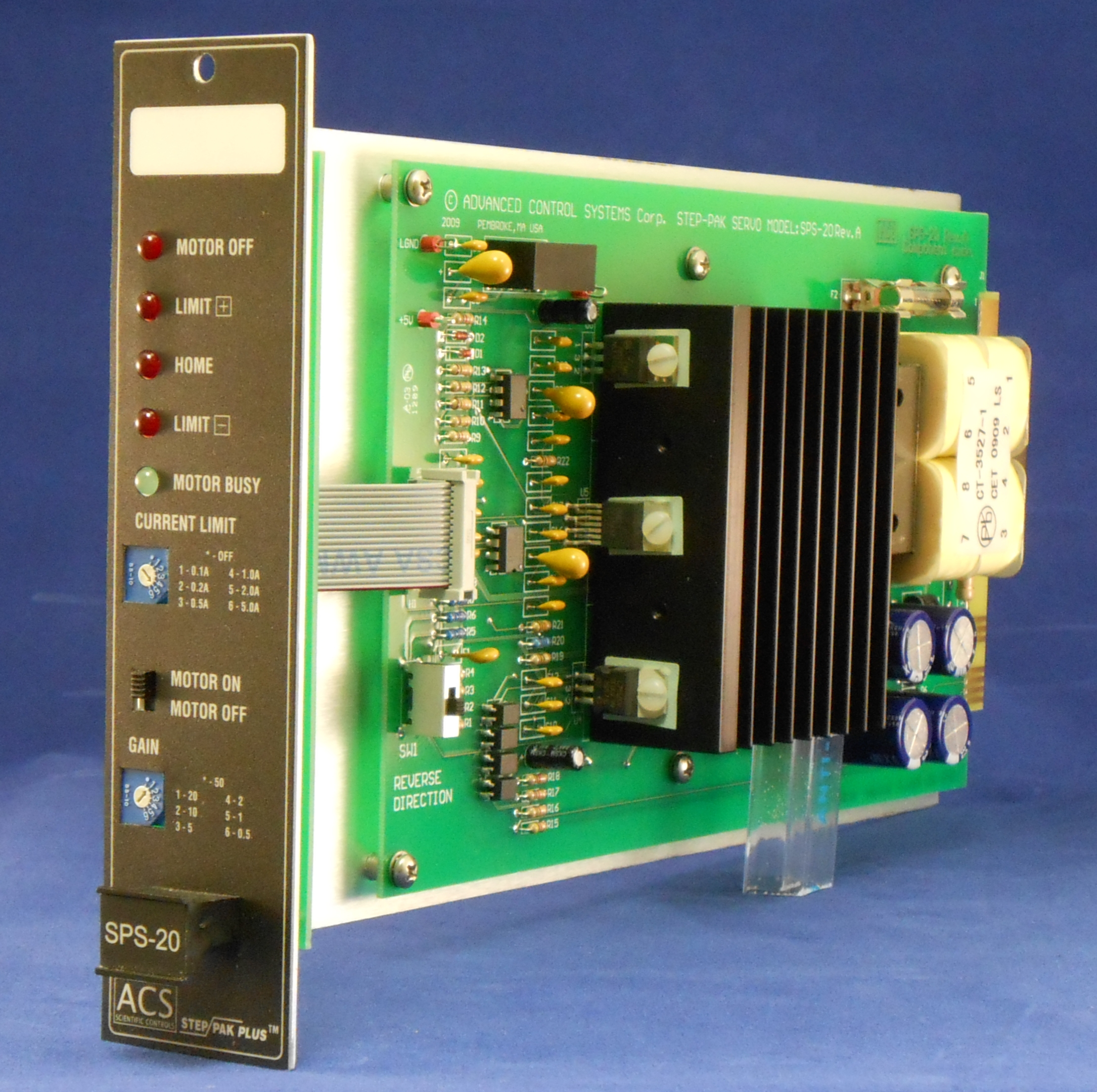 Step-Pak SPS-20 Servo Amplifier